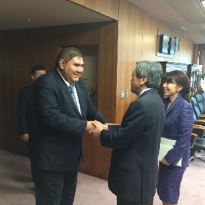 (ガニエフ対外経済関係・投資・貿易大臣との会談)