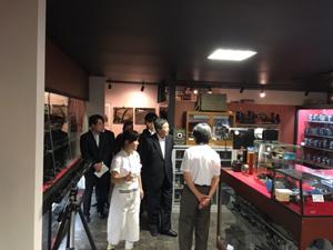 (山口佳郎社長、山口由美子専務が迎えてくれた)