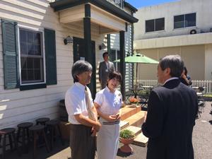 (山口製菓舗に併設されたカメラ博物館)