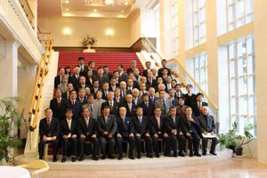 記念式典参加者記念撮影