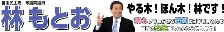 千葉県第10区選挙区支部 衆議院議員 林もとお